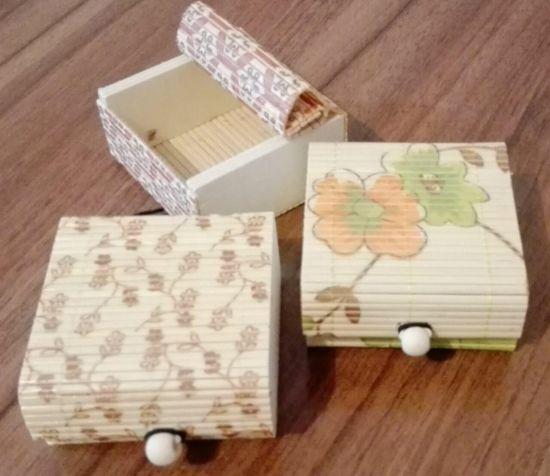 صندوقچه چوبی مربع 2000 فروش