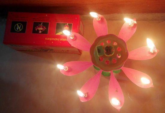 شمع تولد موزیکال 2000 فروش